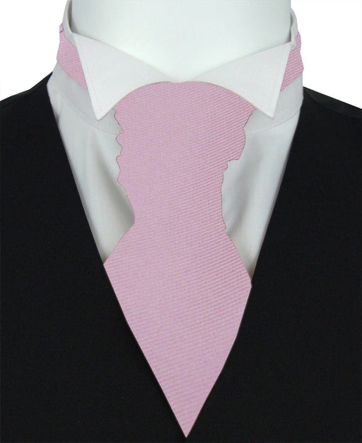 Lavender Twill Boys Pre-Tied Wedding Cravat - Wedding