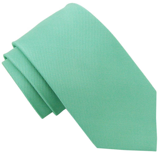 Light Green Silk Wedding Tie - Wedding