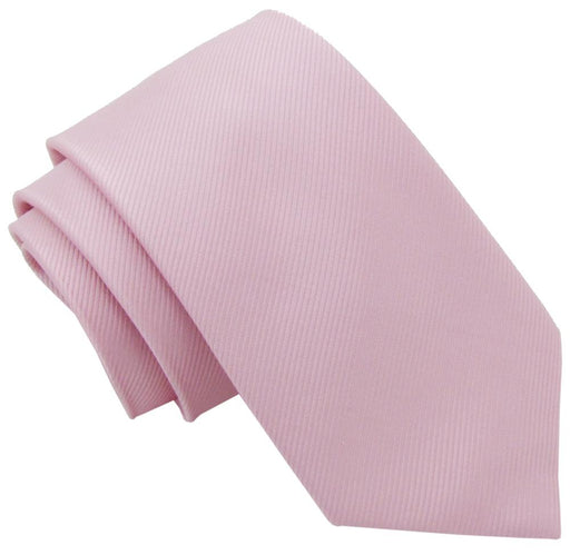 Light Pink Silk Wedding Tie - Wedding