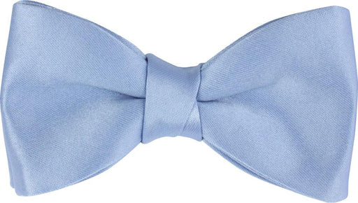 Light Steel Blue Boys Bow Tie - Childrenswear