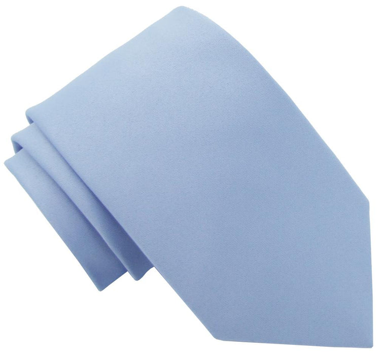 Light Steel Blue Boys Tie - Childrenswear