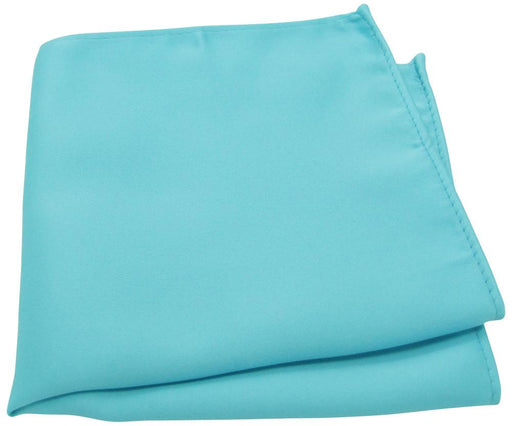 Light Turquoise Pocket Square - Wedding