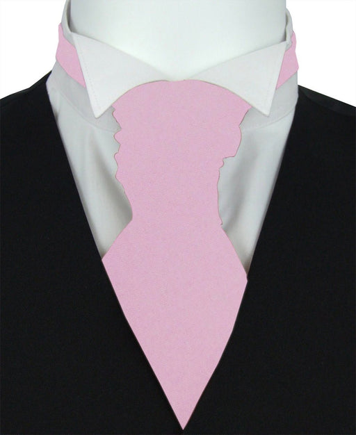 Lilac Blossom Pre-Tied Wedding Cravat - Wedding