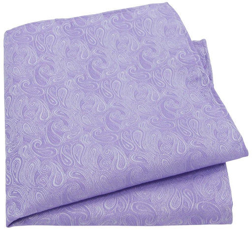 Lilac Paisley Pocket Square - Wedding