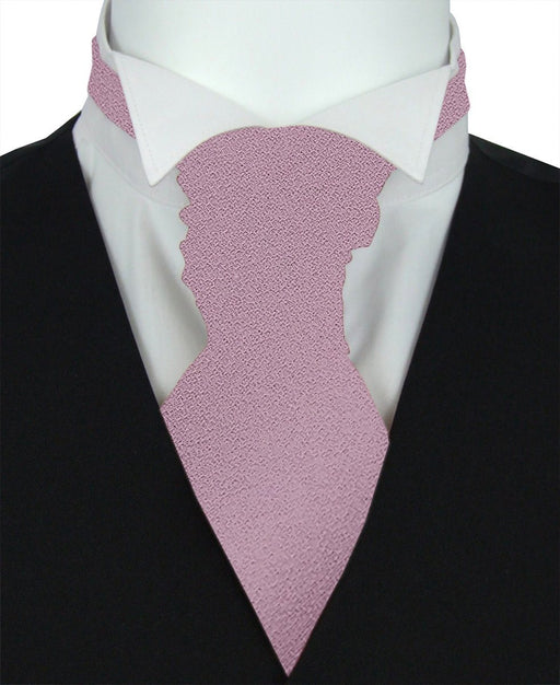 Lilac Rose Boys Pre-Tied Wedding Cravat - Childrenswear