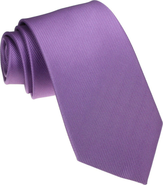 Lilac Silk Wedding Tie - Wedding