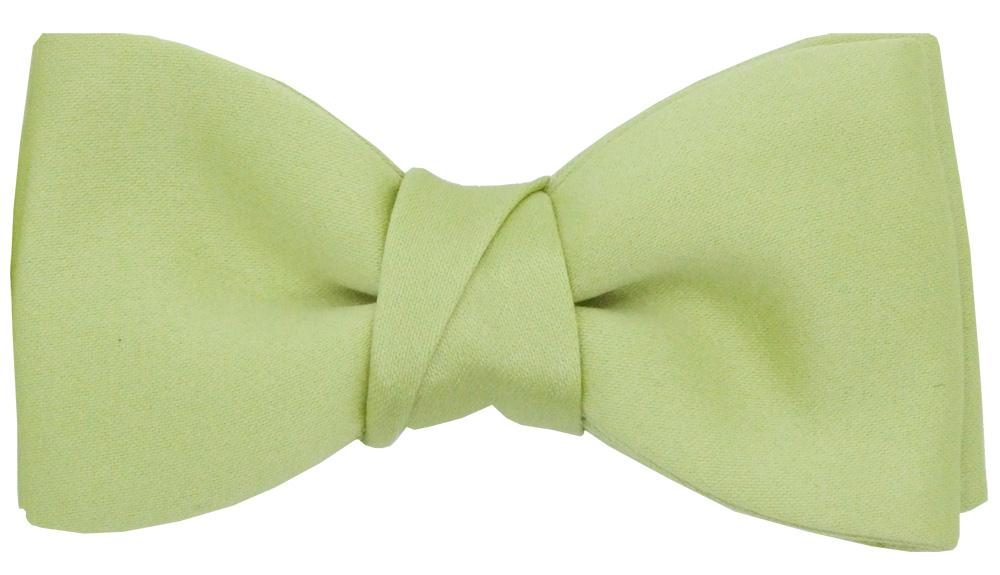 Lime Green Boys Bow Tie - Childrenswear