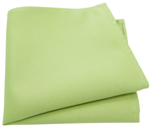 Lime Green Pocket Square - Wedding