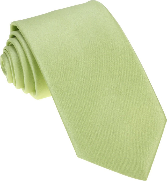 Lime Green Wedding Tie - Wedding