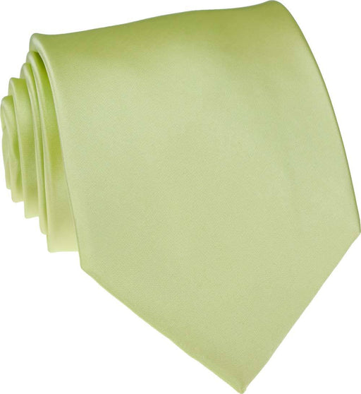 Lime Skinny Wedding Tie - Wedding