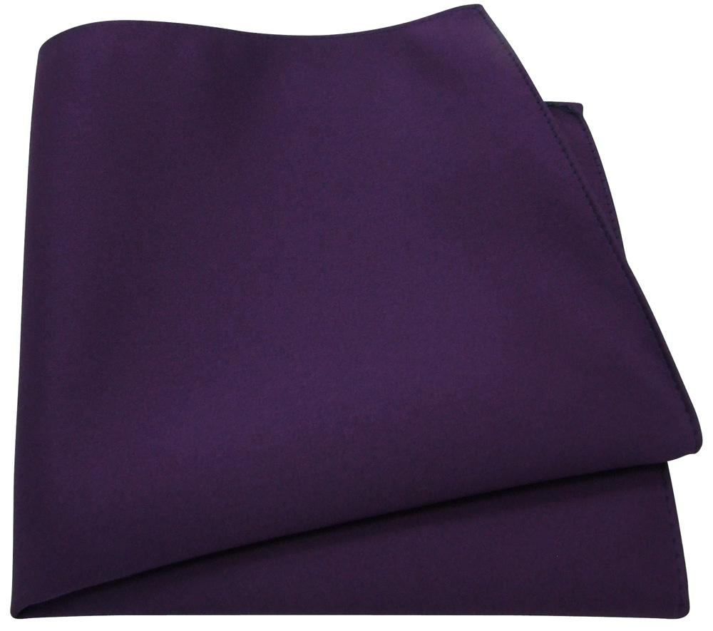 Lotus Purple Pocket Square - Wedding