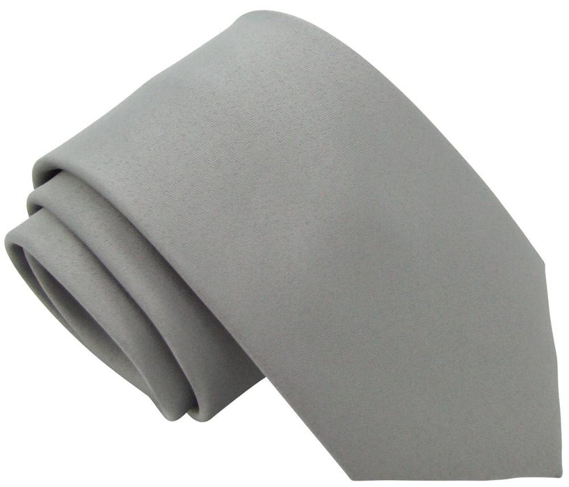 Lunar Grey Boys Tie - Childrenswear