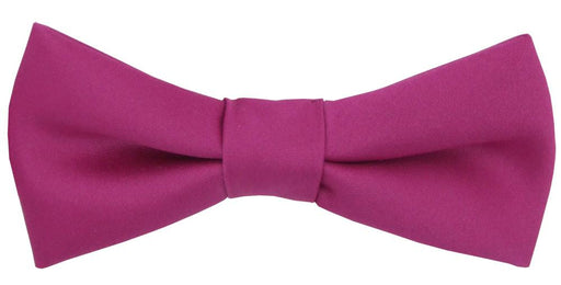 Magenta Boys Bow Tie - Childrenswear