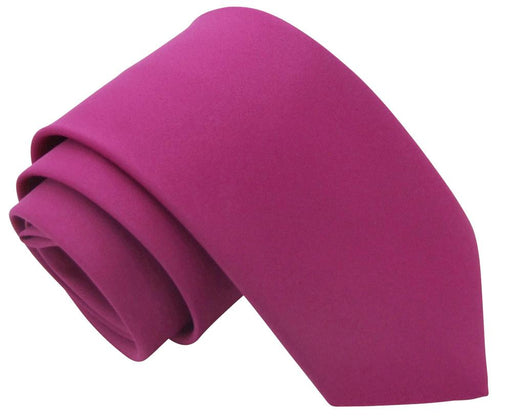 Magenta Wedding Tie - Wedding