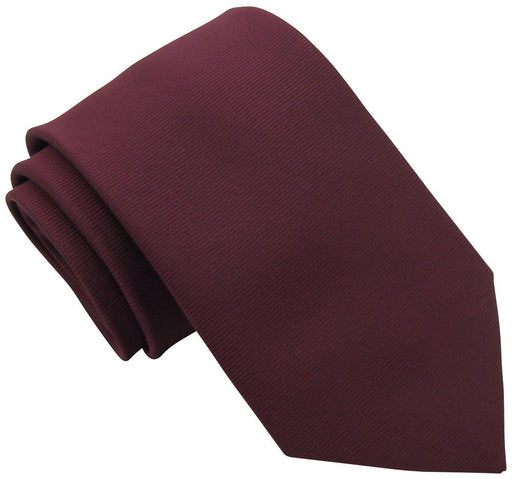 Mahogany Twill Wedding Tie - Wedding