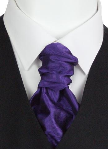 Majestic Twill Boys Pre-Tied Wedding Cravat - Childrenswear