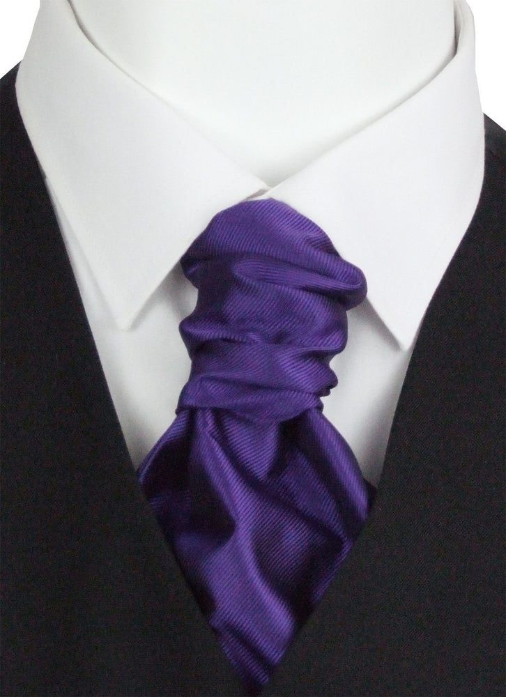 Majestic Twill Pre-Tied Wedding Cravat - Wedding