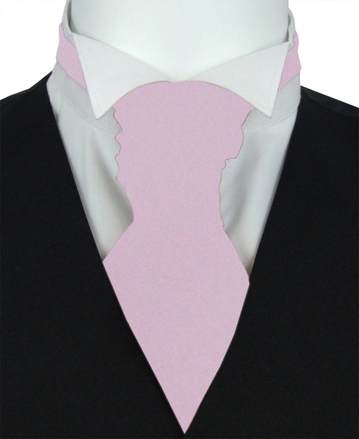 Mauve Boys Pre-Tied Wedding Cravat - Childrenswear