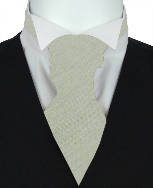 Meadow Shantung Pre-Tied Wedding Cravat - Wedding