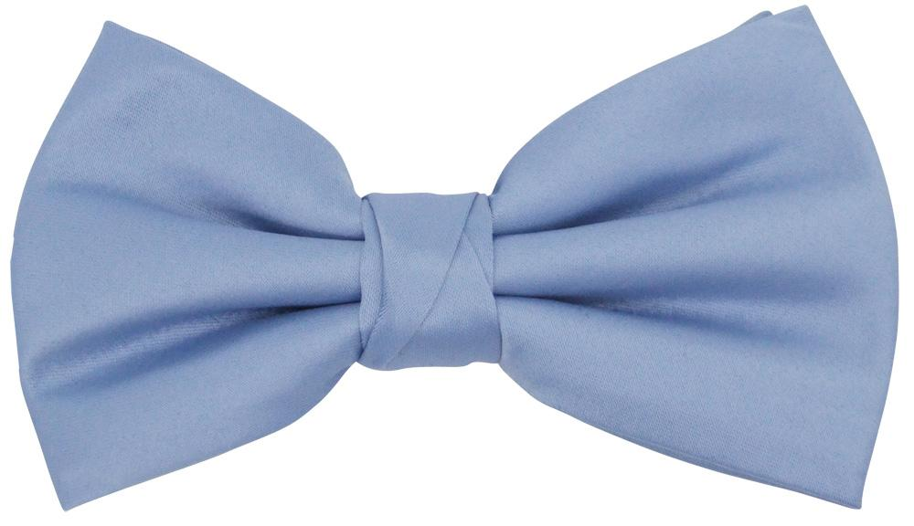 Mid Blue Bow Tie - Wedding