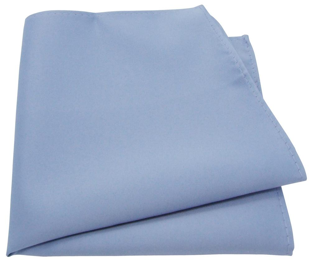 Mid Blue Pocket Square - Wedding