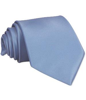 Mid Blue Wedding Tie - Wedding