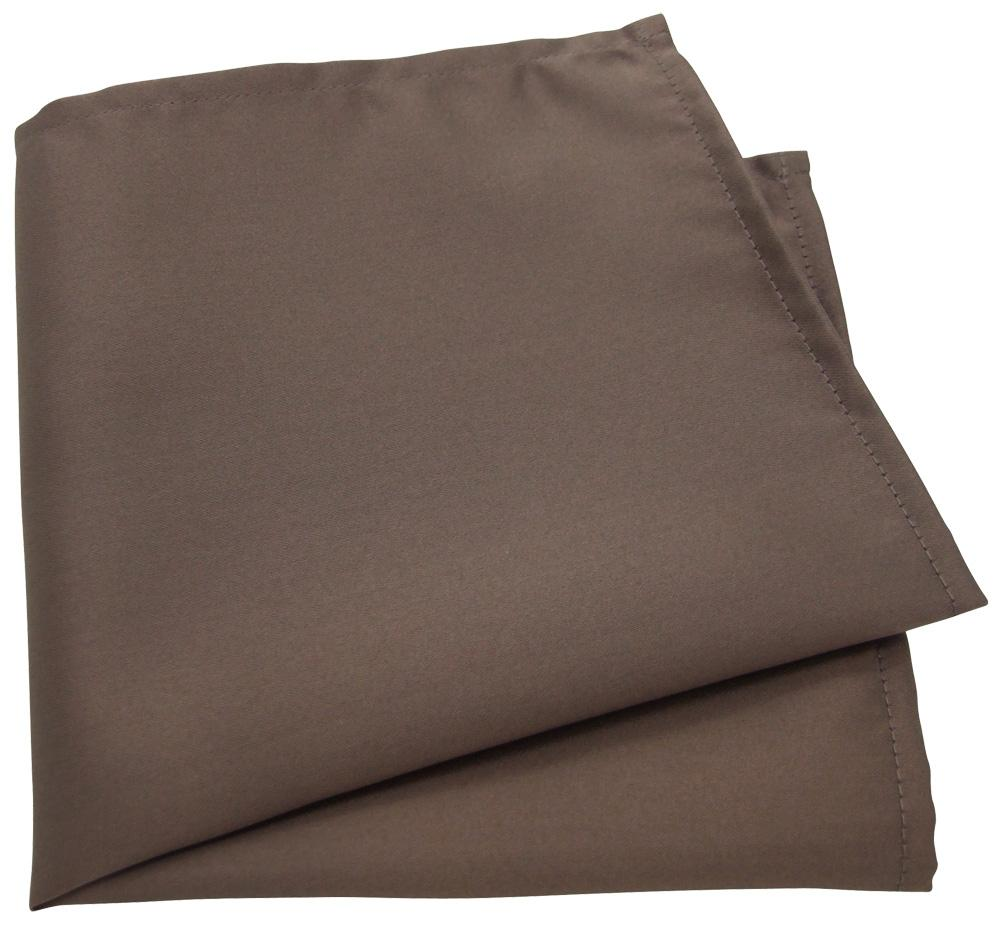 Mid Brown Pocket Square - Wedding