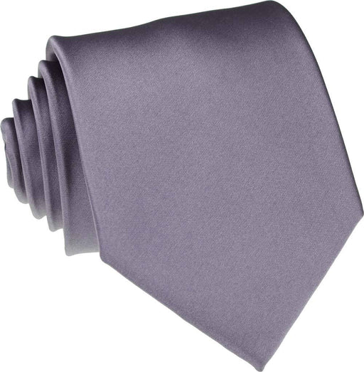 Mid Grey Wedding Tie - Wedding