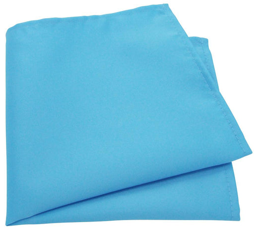 Mid Turquoise Pocket Square - Wedding