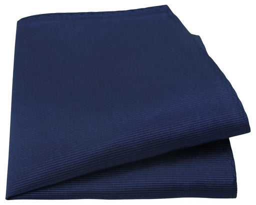 Midnight Blue Silk Pocket Square - Wedding