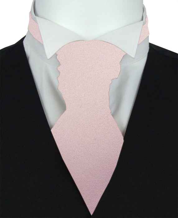 Mink Pre-Tied Wedding Cravat - Wedding