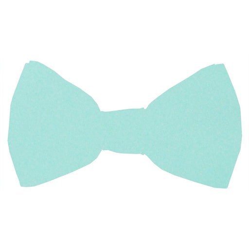 Mint Boys Bow Tie - Wedding