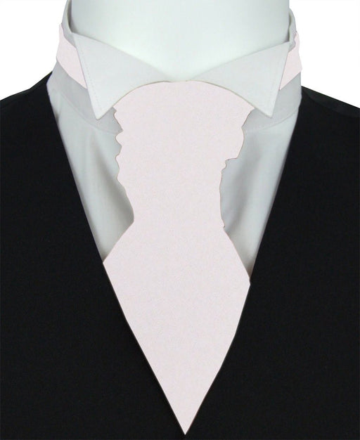Mother Of Pearl Boys Pre-Tied Wedding Cravat - Childrenswear