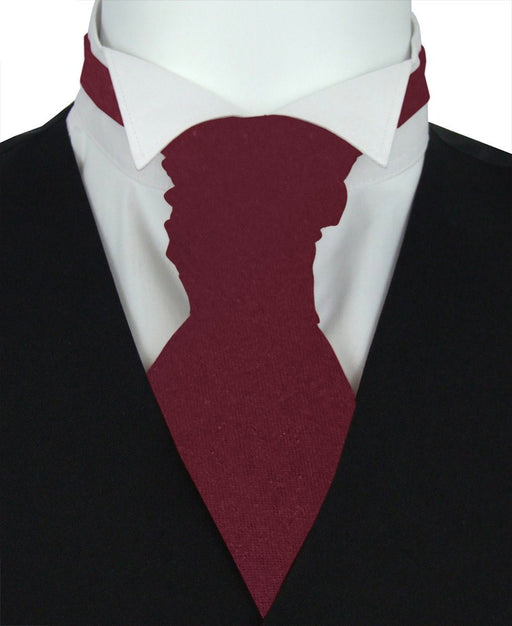 Mulberry Pre-Tied Wedding Cravat - Wedding