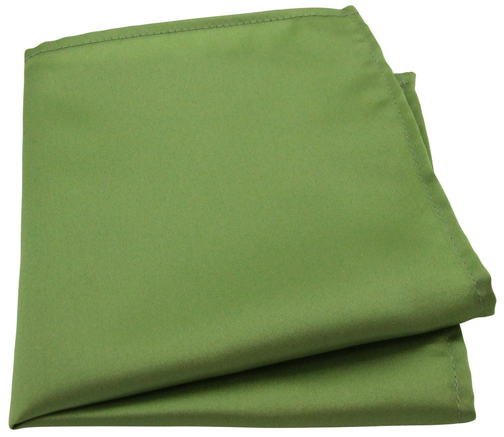 Olive Green Pocket Squares - Wedding