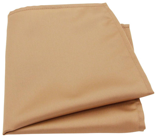Pale Antique Gold Pocket Square - Wedding