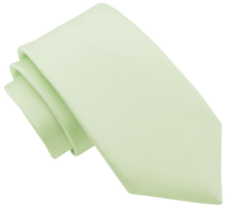 Pale Mint Boys Tie - Childrenswear