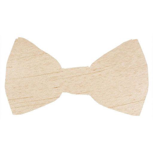 Parchment Shantung Boys Bow Tie - Wedding