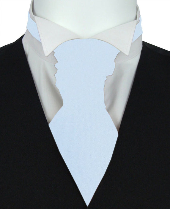 Pastel Blue Boys Pre-Tied Wedding Cravat - Childrenswear