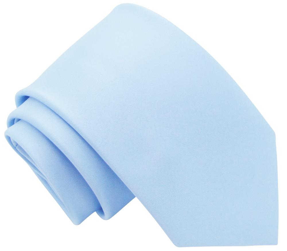 Pastel Blue Boys Tie - Childrenswear