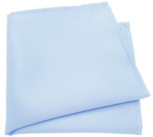 Pastel Blue Pocket Square - Wedding