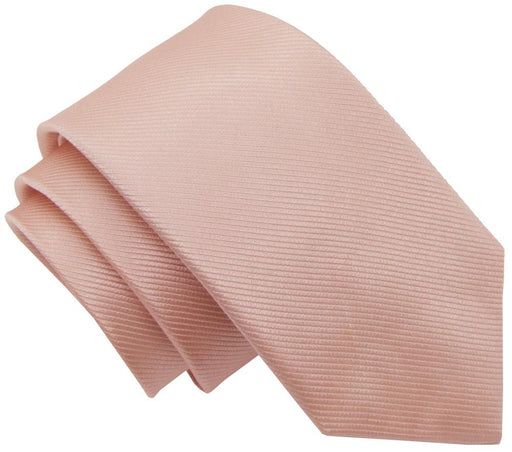 Peach Melba Silk Wedding Tie - Wedding
