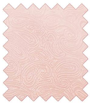 Peach Paisley Wedding Swatch - Swatch