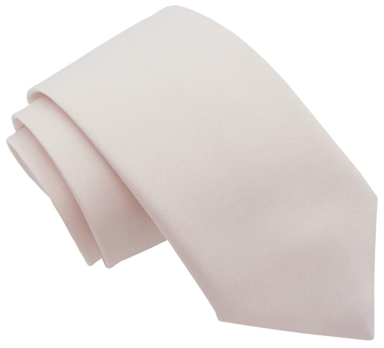 Pearl Blush Wedding Tie - Wedding