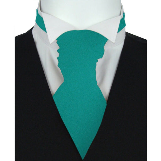 Persian Green Boys Wedding Cravat - Childrenswear