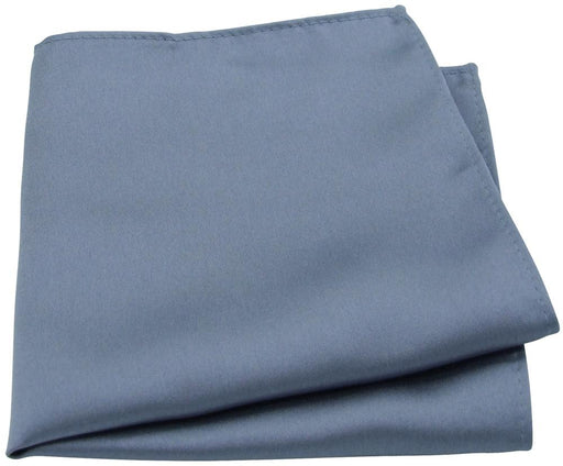 Pewter Pocket Square - Wedding
