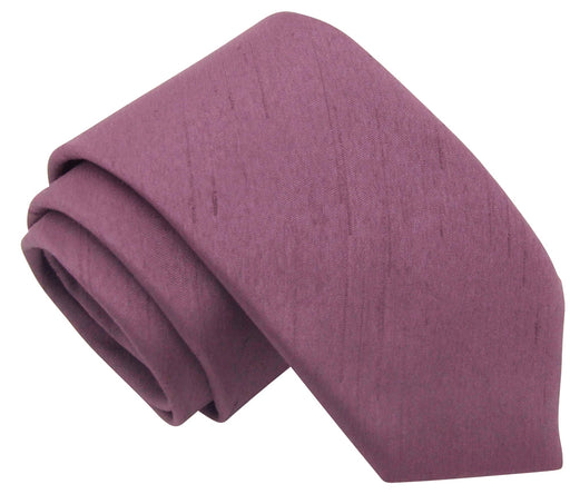 Amethyst Shantung Wedding Ties