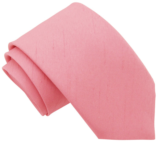 Dusky Pink Shantung Wedding Ties