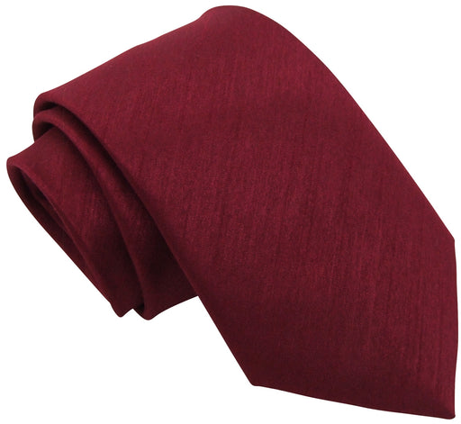 Maroon Shantung Wedding Ties