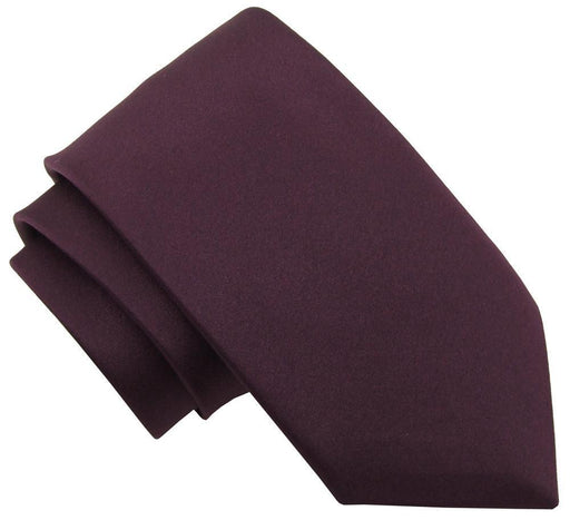 Plum Wedding Tie - Wedding